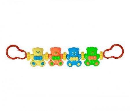 Lorelli Bertoni Igračka za kolica niz - happy bears ( 10210740002 )
