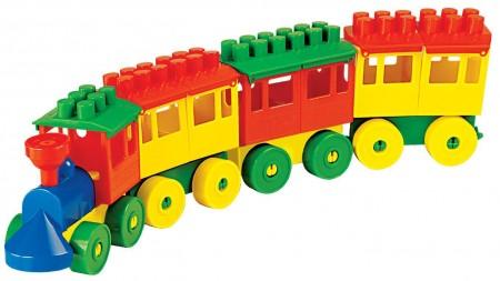 Vozić kocke - 3 vagona  42x6x10cm  ( 036711 )