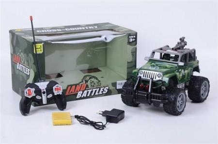 Auto Jeep Land battles RC 27x18x6  ( 786455 )
