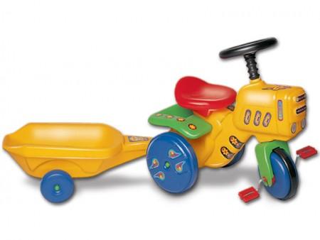 Traktor na pedale mali  120x35x50cm  ( 112015 )