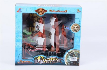 Pirat brod  31x29x11  ( 602378 )