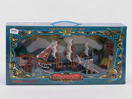 Pirat brod  47x12x32cm  ( 3204405 )