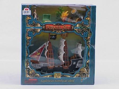 Piratski brod  29x10x32cm  ( 3204396 )