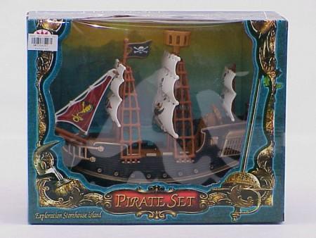 Pirat brod  29x10x23cm  ( 3204387 )