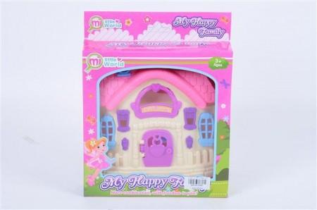 Kuća za lutke Pinky dream 18x23x4  ( 616941 )