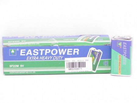 Baterije EastPower 9V 2.5x5x1.5cm  ( 6259671 )
