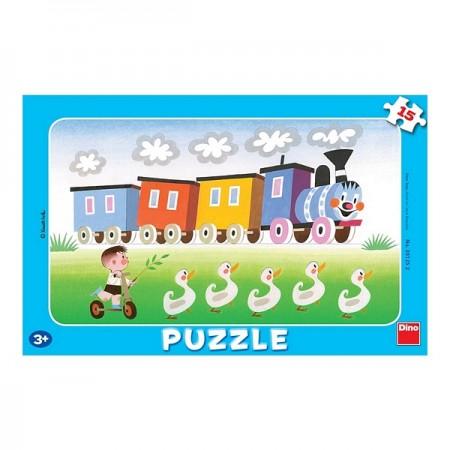 Ram puzzle 15pcs Vozić ( 301252 )