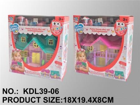 Kuća za lutke Loving family 19x18x9  ( 281897 )
