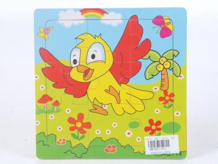 Puzzla ptičica  15x15x0.5cm  ( 467951 )