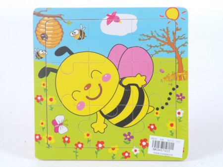 Puzzla pčelica  15x15x0.5cm  ( 467933 )