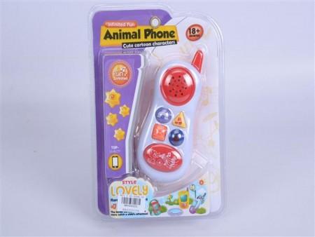 Bebi telefon Animal 16x23x5  ( 093222 )