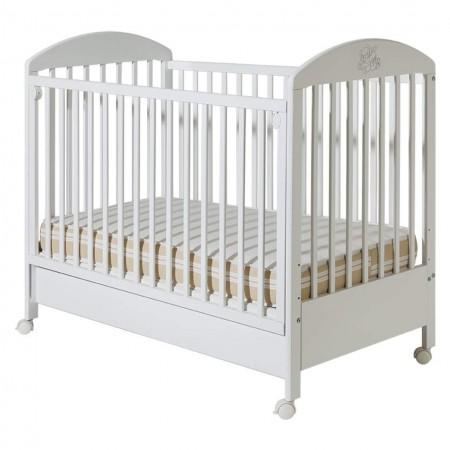 Dečiji krevetac - Bambi beli sa fiokom ( 006 )