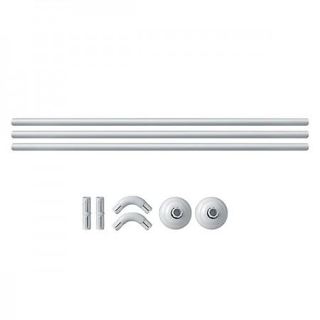 Minotti Šipka za zavesu-ugaona (bela)  ( HM 8405 )