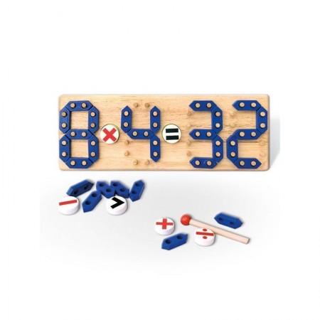 Pertini 58591 Drvena slagalica - učimo matematiku