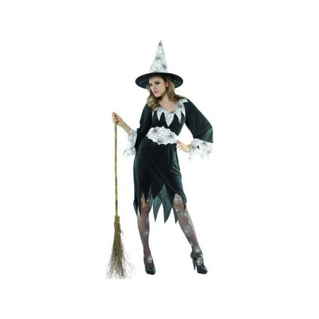 Dečiji kostim 86689/M  Beli pauk veštica