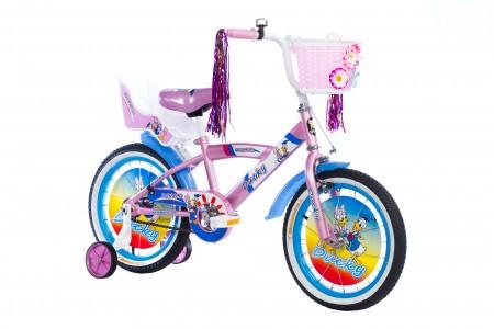 Dečiji Bicikl Ducky 16 roza/bela ( 460453 )