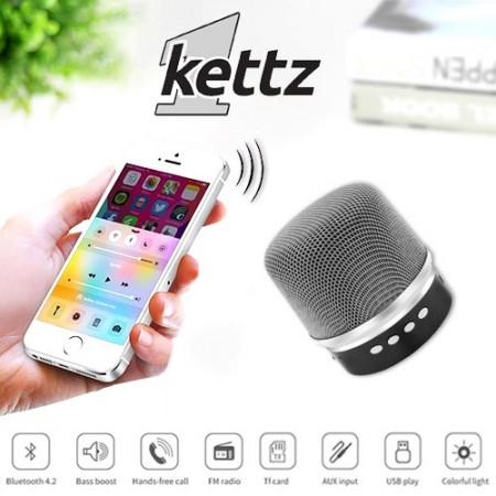 Bluetooth zvučnik Kettz BTK-790 V4.2 silver ( 00790S )