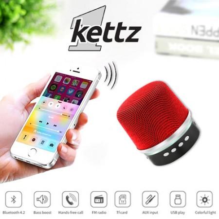 Bluetooth zvučnik Kettz BTK-790 V4.2 crveni ( 00790R )