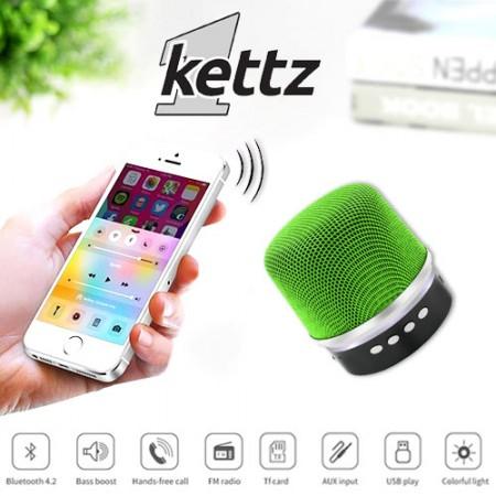 Bluetooth zvučnik Kettz BTK-790 V4.2 zeleni ( 00790G )