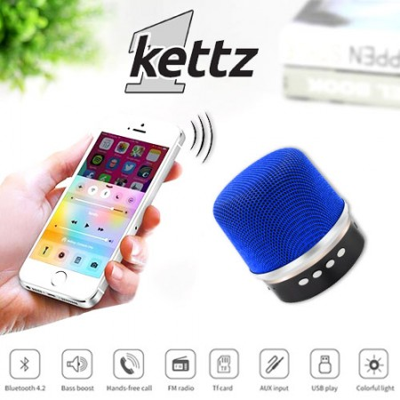 Bluetooth zvučnik Kettz BTK-790 V4.2 plavi ( 00790B )