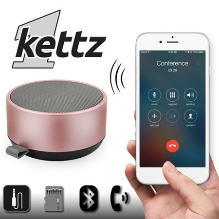 Bluetooth zvučnik Kettz BTK-890 V4.2 pink ( 00890P )