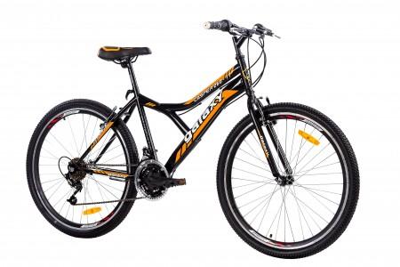 MTB Bicikla Casper 260 26/18 crna/narandžasta ( 650043 )