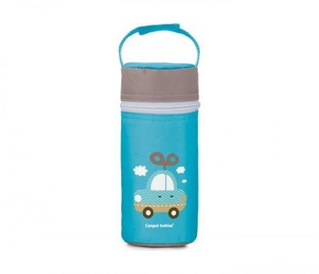 Canpol termos za flasice toys 69/008 - blue car ( 69/008_blu )