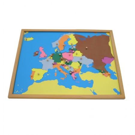 Montesori Drvene puzzle Evropa ( ATG0075 )
