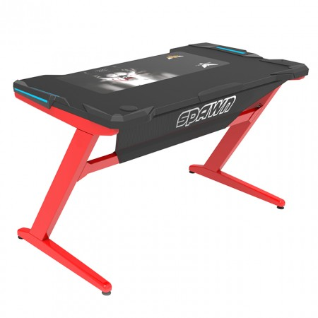 Horz Z1 Computer Desk Red/Black ( 153499 )