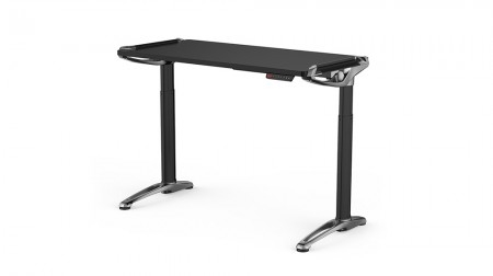 Devana E3 Adjustable Desk Black/Chrome ( 153503 )