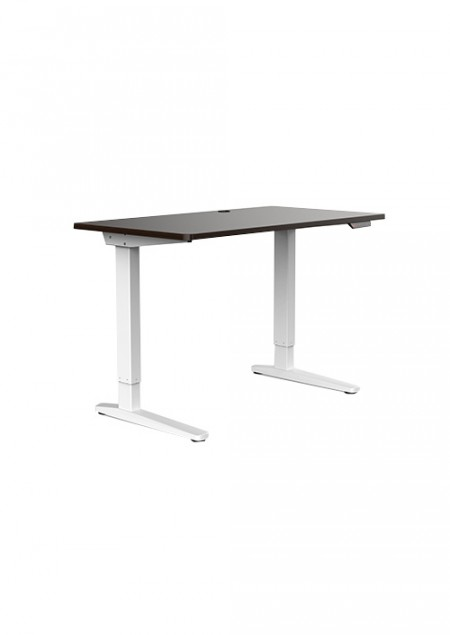 Proven E2-14 Adjustable Desk White/Brown ( 153501  )
