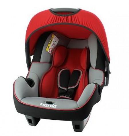 Nania autosedište Beone 0+ (0-13kg) Luxe Rouge-crno crveno ( 5121114 )
