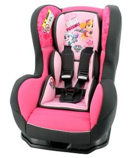 Nania autosedište Cosmo 0/1/2 (0-25kg) Paw Patrol,pink-roze ( 5121124 )