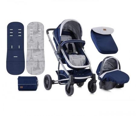 Lorelli Bertoni Kolica S-500 set blue travelling ( 10020851850 )