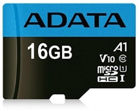 A-Data UHS-I MicroSDHC 16GB class 10 + adapter ( AUSDH16GUICL10A1-RA1 )