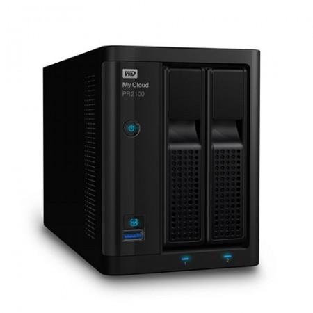 WD My Cloud Pro PR2100, Intel Pentium N3710, 4GB RAM, 2xHDD, 2xGLAN/USB3.0 (WDBBCL0000NBK)