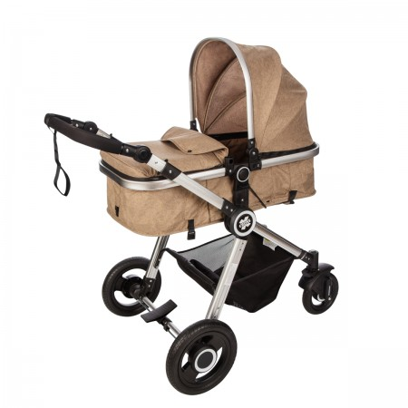 NouNou kolica X-cross set 2 in 1 dark beige ( X5B )