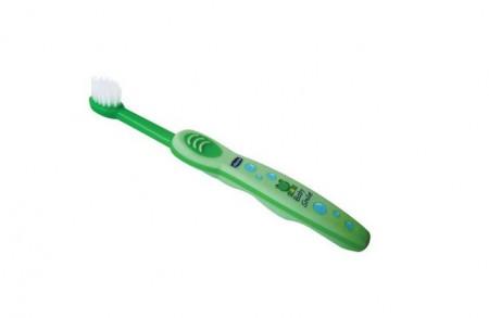 Chicco bm četkica za zube zelena od 6 meseci ( 1020013 )
