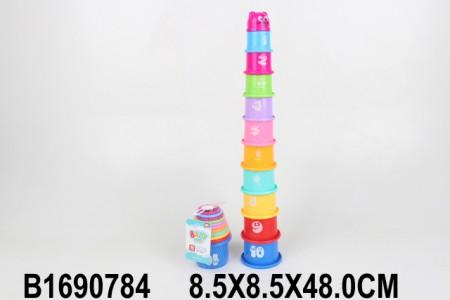 Kupovi za slaganje Piza 48x8x8  ( 1690784 )