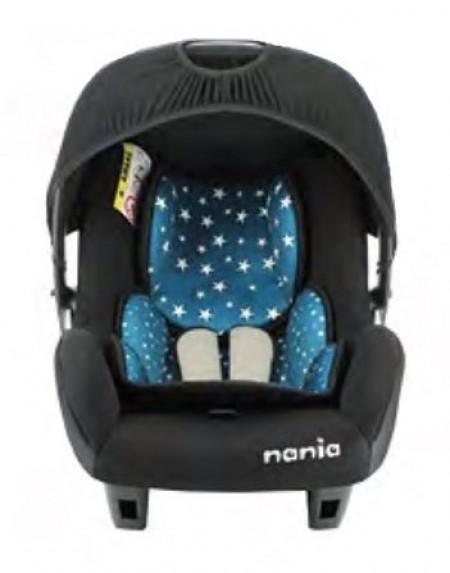 Nania autosedište Beone 0+ (0-13kg) Eco Stars blue-plavo ( 5121116 )