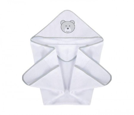 Klups Peškir za bebe teddy bear 100x100cm ( K084T )