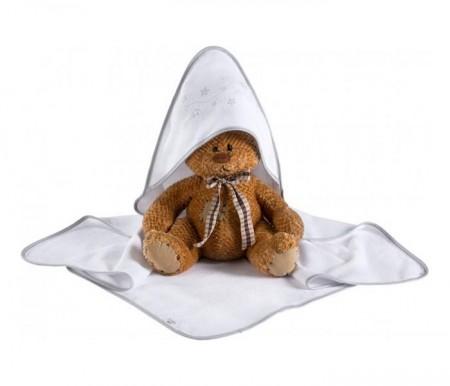 Klups Peškir za bebe zvezdice 100x100cm ( K066T )