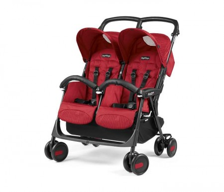 Peg-Perego Kolica aria shopper twin class.geo red ( P3180011336 )