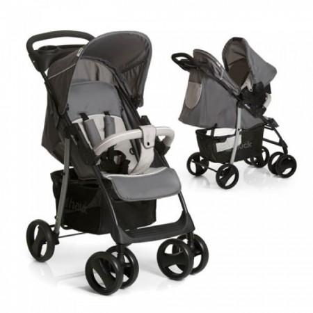Hauck Shopper ShopnDrive Stone Grey duo set (kolica+auto sedište) ( 5040226 )