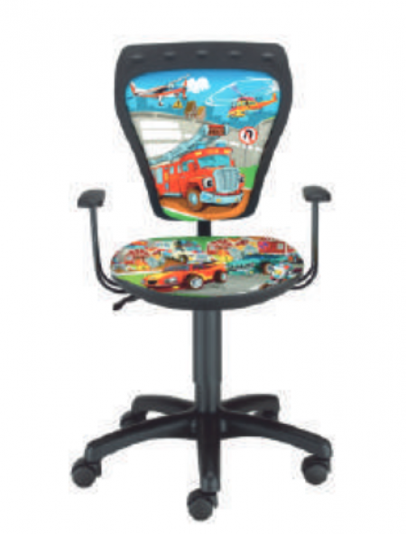 Dečija daktilo stolica Ministyle TS22 GTP28-BL cars SH