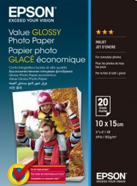 Epson S400037 Value Glossy Photo Paper 10x15 ( C13S400037 )
