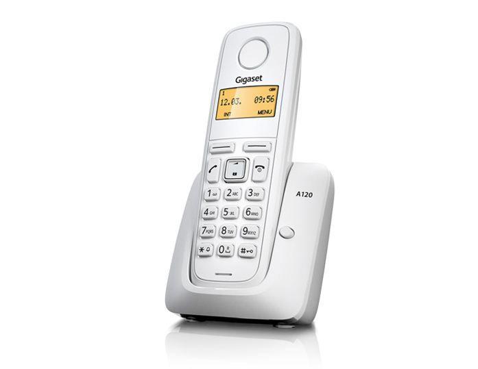 Siemens Gigaset A120 IM-East bežični telefon beli