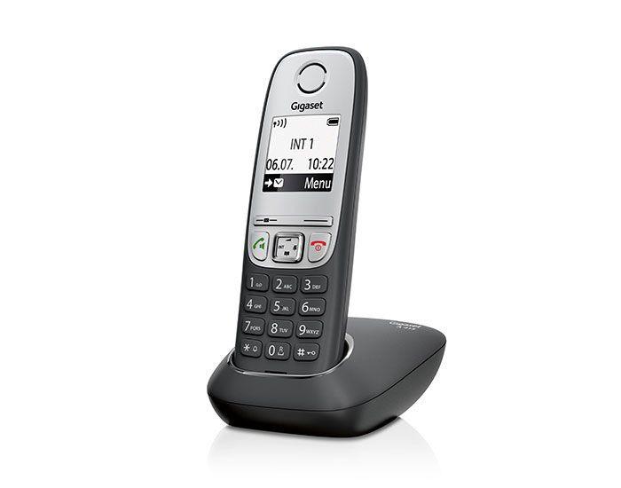 Siemens Gigaset A415 bežični telefon crni