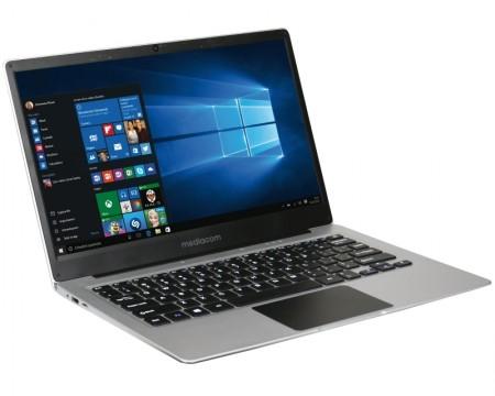 Mediacom SmartBook SB130 13.3 FHD Intel Atom x5-Z8350 Quad Core 1.44GHz (1.92GHz) 4GB 32GB Windows 10 Home 64bit srebrni