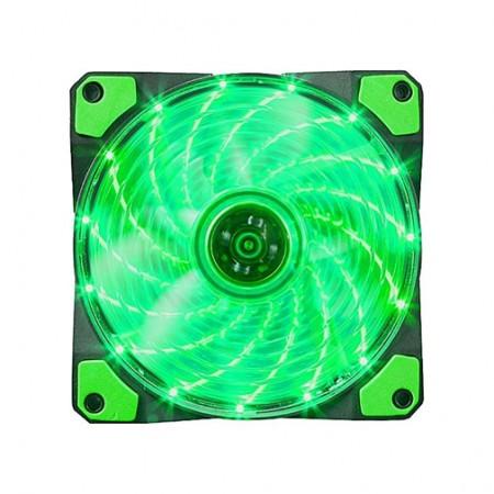 Hladnjak za kućišta 120x120 Marvo FN10 LED zeleno pozadinsko osvetljenje ( 009-0078         )